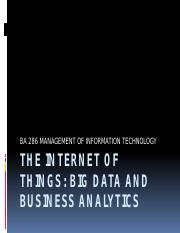 BA 286 08 The Internet of Things Big Data and Business Analytics.pptx
