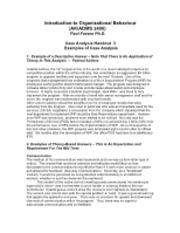 ob case study examples