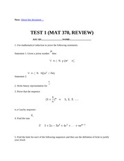 test 1 review
