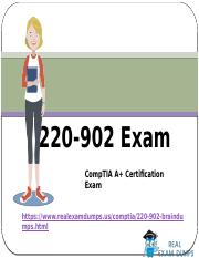 Valid CompTIA 220-902 Exam Question Answers - 220-902 Exam Dumps RealExamDumps
