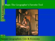 GEOG 1HB3 - 2011F - Lecture 05 - Maps - The Geographer's Favorite Tool - student