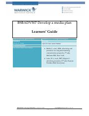 BSBADV507-Learners guide.pdf