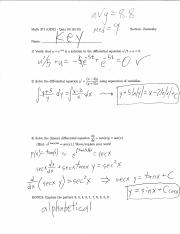 MATH_371_Fall_2013_Quizes_Solutions