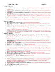 1984 Book Two Study Guide 2015 16 1 1 Book Two Chapter 1 1