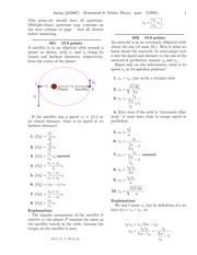 Homework 9- Orbits, Waves-solutions