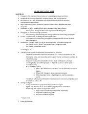 MIS 340 EXAM 3 STUDY GUIDE