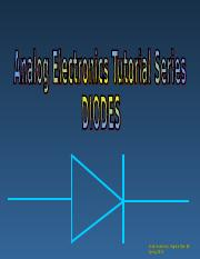 Diodes and its models.ppt