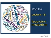 2015 - BCH3120 - Lecture 13 - S