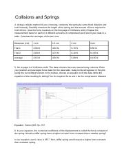 Collisions and Springs-Lab 4.docx
