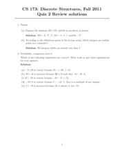 Quiz 2-review-solutions