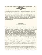 El_Filibusterismo_Kabanata_1-39[1] - El Filibusterismo Buod