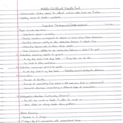 Child Psych_Middle Child Development_Lecture Notes