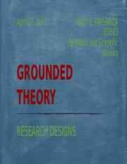 R7 GROUNDED THEORY