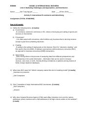 4.5 U4A5 International E-commerce and Advertising (assignment-2).docx