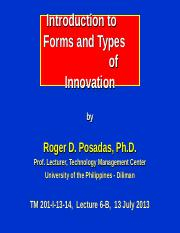 201-6-B_Forms & Types of Innovation.ppt