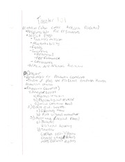 Basics of Theatre Notes
