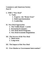 Commerce and American Society outline (pt. 2)