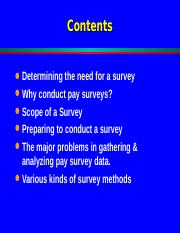 market Surveys