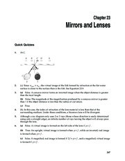 1_Chapter 23 HomeworkCH23 Mirrors and Lenses