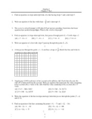 Suggestions For Instruction 1 Glencoe Hands On Geometry Ideas For The