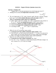 Review Solutions Chapter 19