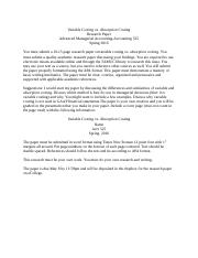 process costing research paper Paper - please write a 4-5 page apa formatted paper (not including the title page or reference page) with 12pt arial or times new roman font, double spacing, and a minimum of 3 references (not including the textbook) on the following:compare and contrast job order costing, activity based costing and process costing.
