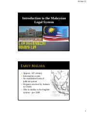 Lecture 2- BLAW MALAYSIAN LEGAL SYSTEM.pdf