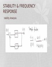 STABILITY & FREQUENCY RESPONSE_CHAPTER2.ppt