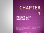 CHAPTER 1 (ETHICS AND BUSINESS)(1)