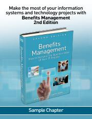 Benefit Management CH01