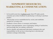 BUSN 340 Lecture 14 NP+Resources-+Marketing+_+Communication+2014 (1)