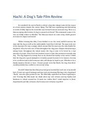 Hachi film review