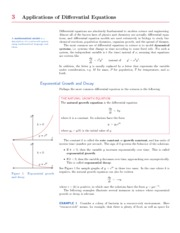 ApplicationsOfDifferentialEquations
