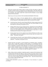 Tutorial Worksheet III for 2013 -- Terms and Remedies