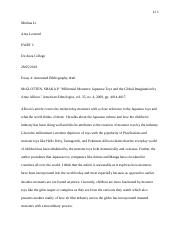 Annotated bibliography draft 1.docx