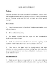 Blue Spider Project Case Study - Answers - Copy (2)
