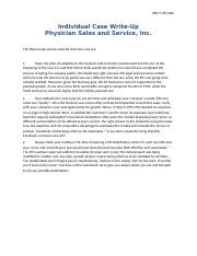 Physician Sales and Service, Inc.