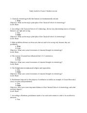 Exam 3 study guide for students  crjs