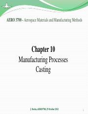 Chapter 10 - Casting