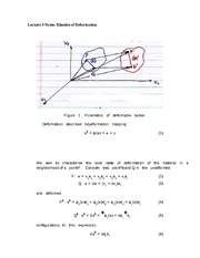 Lecture 3 Notes Kinetics of Deformation