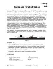 12 Static Kinetic Friction - Mod.doc