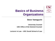 Business Law Presentation 2011