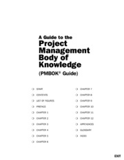 Project Management Body Of Knowledge 2000