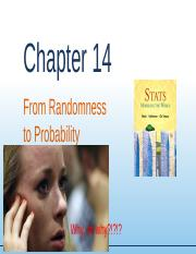 Chapter14 - From Randomness to Probability.ppt