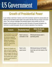 3.22 Growth of Presidential Power.pptx