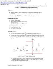 Lab 7 A MOSFET Amplifier Circuit.pdf