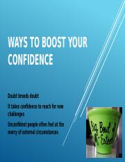 Ways to Boost Your Confidence.pptx