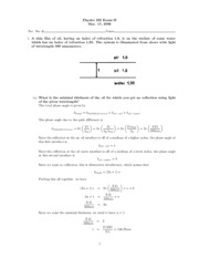 Exam02_Sol3 Physics