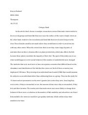 Physiology Critique Draft GP