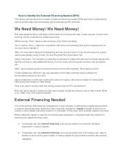 How to Identify the External Financing Needed (EFN).docx